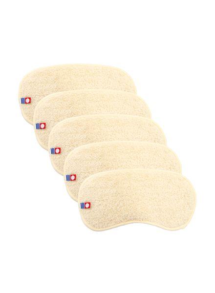 Imabari Forehead Towel (Natural) 5 pcs set