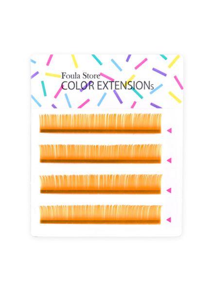 Color Lashes 4 Lines Orange
