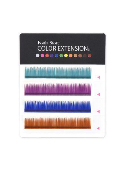 Color Lashes 4 Lines Elegant